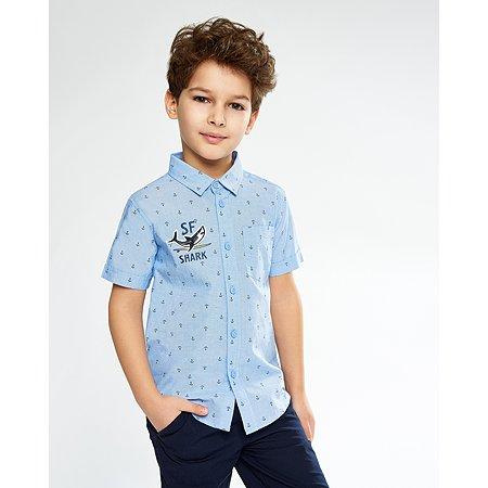 Рубашка Futurino голубая