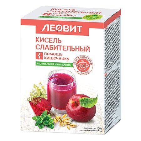 Кисель Леовит Слабительный 100г 5пакетов