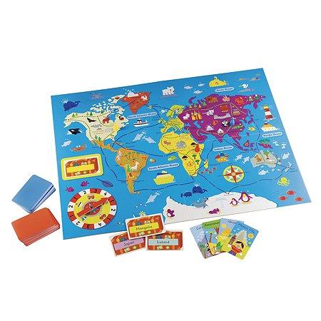Пазл развивающий ELC Карта мира 147160