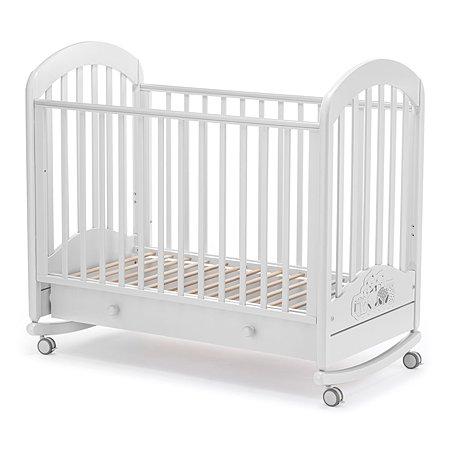 Кровать Nuovita Grano Dondolo Bianco/Белый
