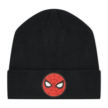 Шапка  Spider-man чёрная