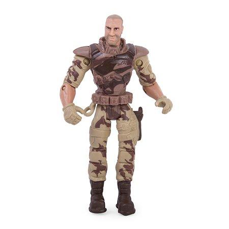 Военный набор Global Bros Герои-6 (солдатик и аксессуары)
