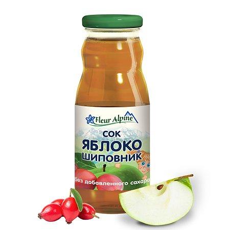 Сок Fleur Alpine яблоко-шиповник 0.2л с 5месяцев