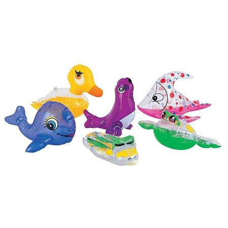 Фигурки для плавания Bestway Inflatables Животные надувные 34030