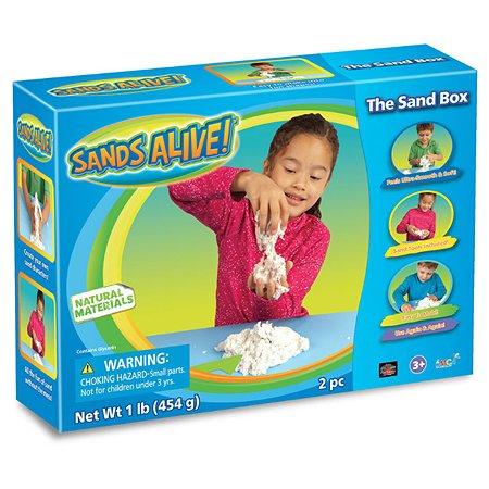 Набор для творчества Spin Master Sands Alive пластилин 450г, лопатка