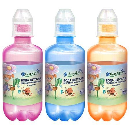 Вода Fleur Alpine детская питьевая 0.25л с 0месяцев в ассортименте