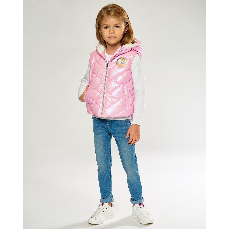 Жилет Futurino Fashion розовый