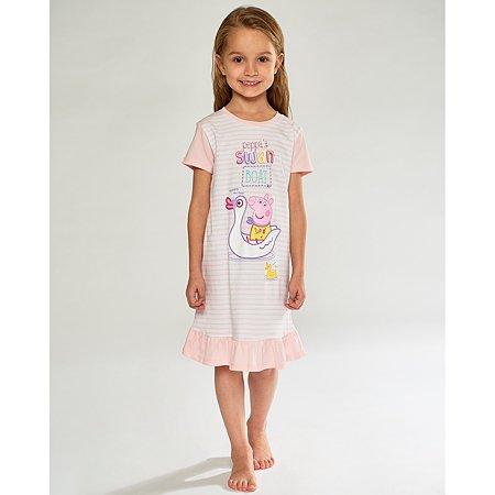 Сорочка ночная Peppa Pig розовая