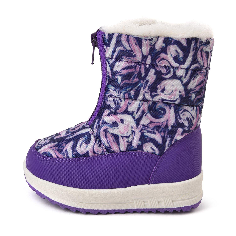 Сапоги-дутики BabyGo фиолетовые