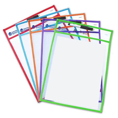 Папки для занятий Learning Resources Пиши и стирай