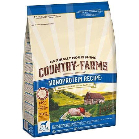 Корм для собак Country Farms Monoprotein с курицей 2.5кг