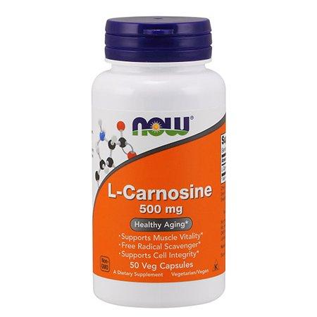 Биологически активная добавка Now L-Карнозин 655мг 50капсул
