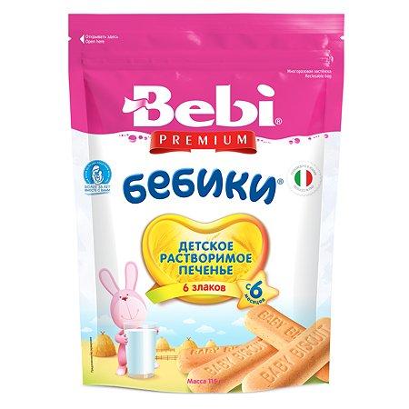 Печенье Bebi Колинска Бебики 6 злаков 115г с 6месяцев
