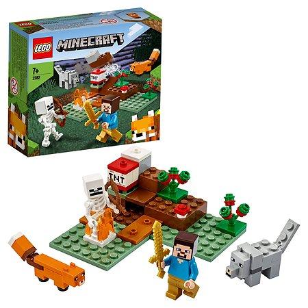 Конструктор LEGO Minecraft Приключения в тайге 21162