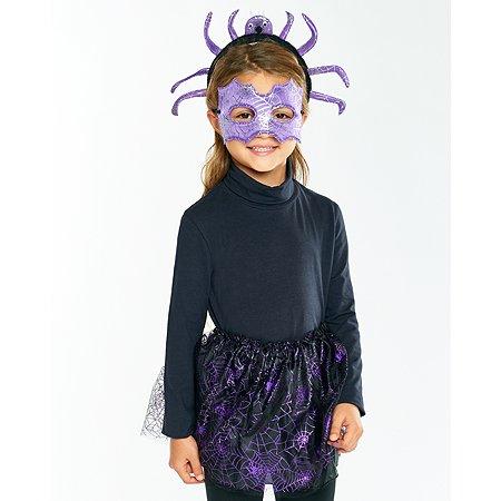 Костюм карнавальный EVERGREAT Паучиха с маской и ободком RT-18006