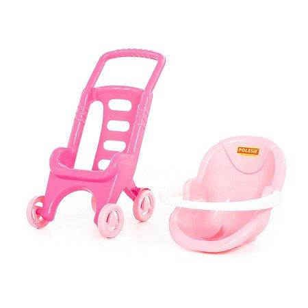 Коляска Palau Toys Pink Line 44525_PLS