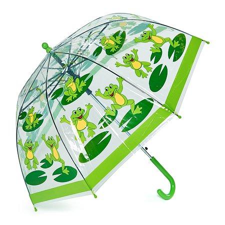Зонт-трость Wappo зелёный