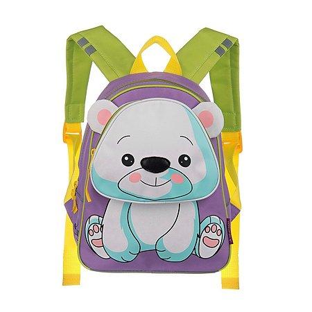 Рюкзак Grizzly Медведь Фиолетовый