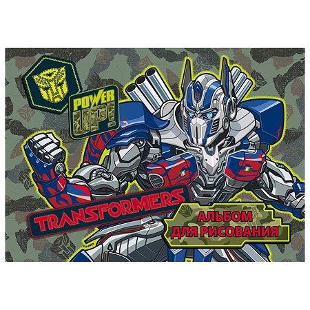 Альбом для рисования Полиграф Принт Transformers 40л TR162