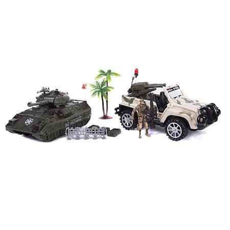 Набор Global Bros джип и танк