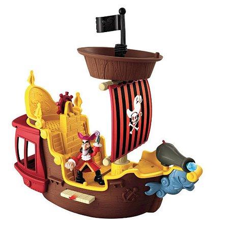 Корабль Веселого Роджера Jake Neverland Pirates серия Джейк и Пираты Нетландии