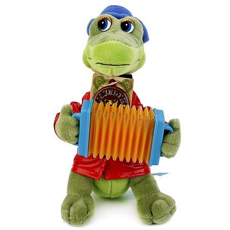 Игрушка мягкая Мульти-Пульти Крокодил Гена с аккордеоном 113346/V40652/21MS26
