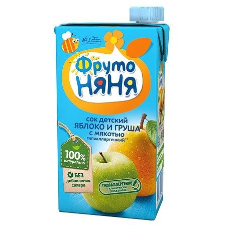 Сок ФрутоНяня яблоко-груша 0.5л с 3лет