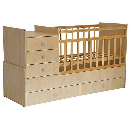 Кровать детская Фея 1000 (клён)