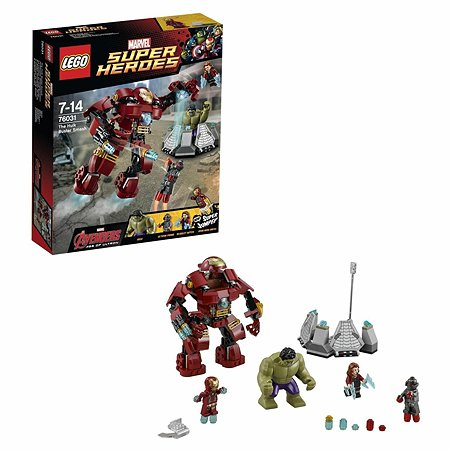 Конструктор LEGO Super Heroes Разгром Халкбастера (76031)
