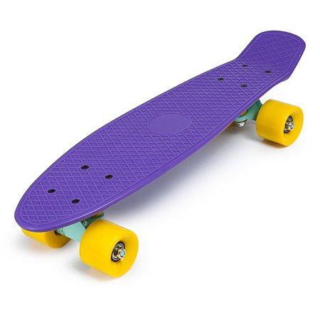 Скейтборд Kreiss 57 см фиолетовый