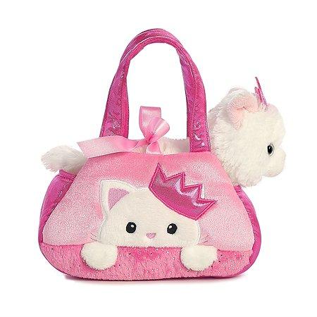 Мягкая игрушка Aurora Кошка в сумке переноске