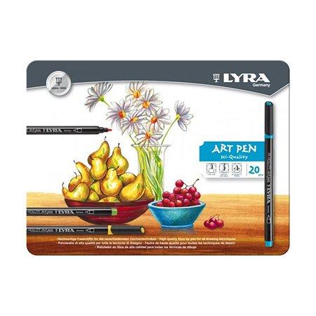 Фломастеры Lyra Art Pen 20шт