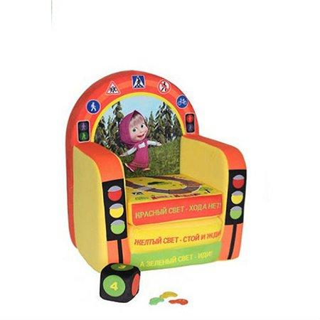 Кресло детское Смолтойс с печатью раскладывающееся