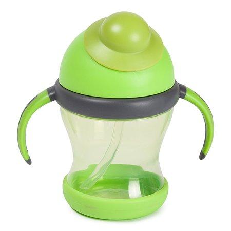 Поильник Baby Go с трубочкой Green CC-CI-0122