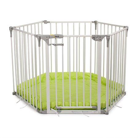 Ворота безопасности Hauck Baby Park White