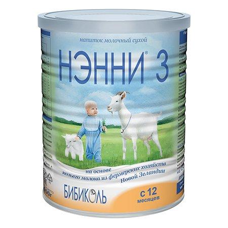 Молочный напиток Бибиколь 3 на основе козьего молока 400 г с 12 мес