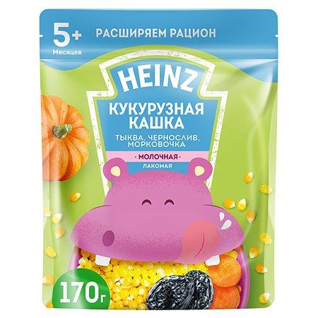 Каша Heinz Лакомая кукурузная тыква-чернослив-морковь 170г с 6месяцев