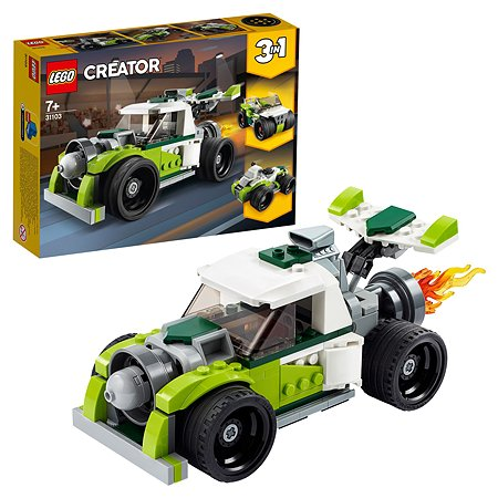 Конструктор LEGO Creator Грузовик-ракета 31103