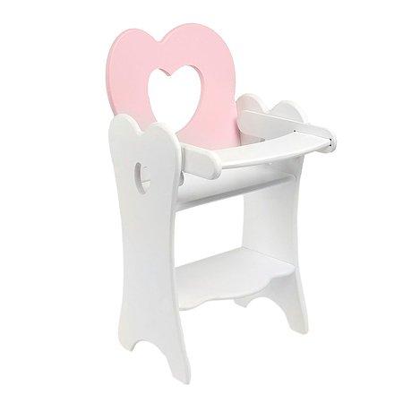 Стульчик для кукол PAREMO для кормления мини Розовый PFD120-29M