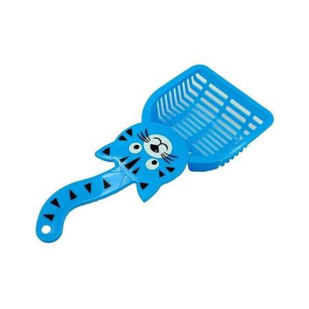 Совок для кошачьего туалета Ripoma голубой Ripoma