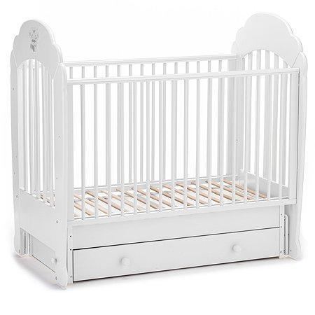 Кровать Nuovita Parte Swing с поперечным маятником Bianco/Белый