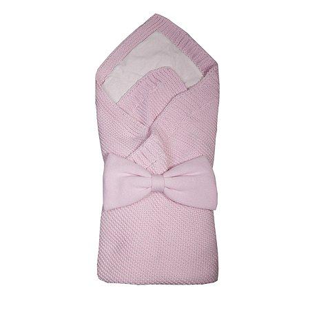 Комплект на выписку BabyEdel вязаный 3предмета Розовый 11226