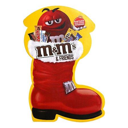 Набор подарочный M&MS Friends Boot 180г