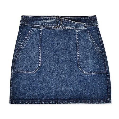 Юбка Futurino Fashion синяя