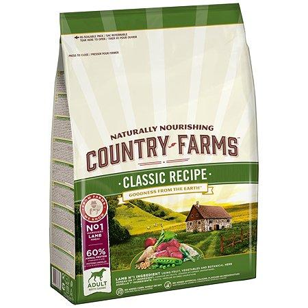 Корм для собак Country Farms Classic Recipe с ягненком 2.5кг