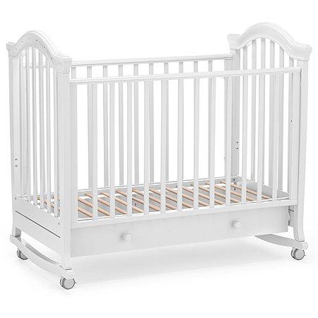 Кровать Nuovita Perla Dondolo Bianco/Белый