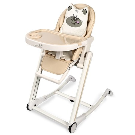 Стул для кормления AMARO BABY Rocking Baby Бежевый
