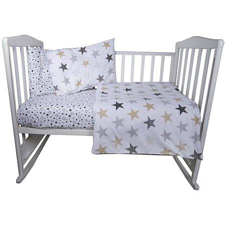 Комплект постельного белья Babyton My Little Star 4предмета 10002