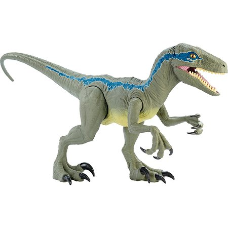 Фигурка Jurassic World Колоссальный велоцираптор Блю GCT93