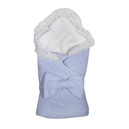 Комплект на выписку Baby Edel Итальяно 2предмета Голубой 11227